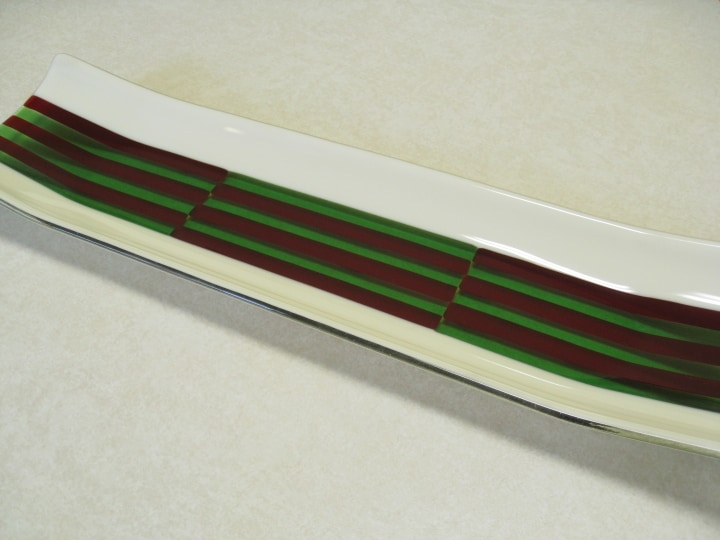 Fused Glass Channel Plate