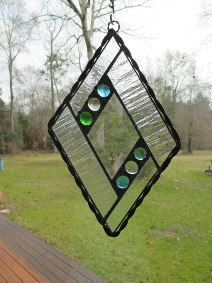 Stained Glass Sun Catcher Decorative Solder