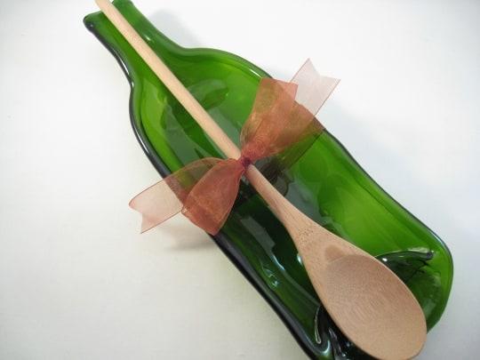 Wine Bottle Spoon Rest