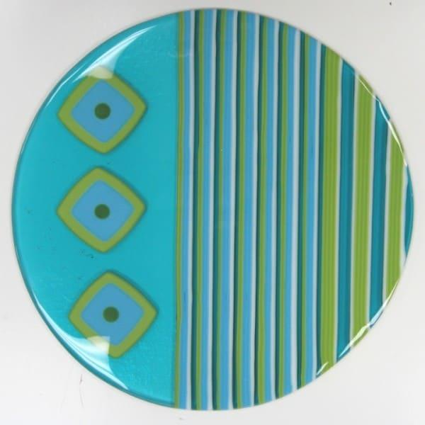 Fused Glass Strip Bowl Technique