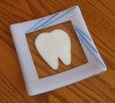 children tooth fairy plate