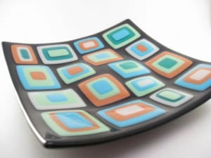 Fused Stacked Glass Plate